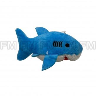 Chaveiro Pelúcia Tubarão (3 Cores) 12 PEÇAS F1301611