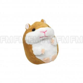 Chaveiro Pelúcia Hamster (3 Cores) 12 PEÇAS F6600007