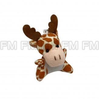 Chaveiro Pelúcia Bichinho Girafa F9900254
