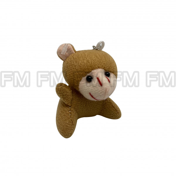 Chaveiro Pelúcia Bichinho Macaco F9900254