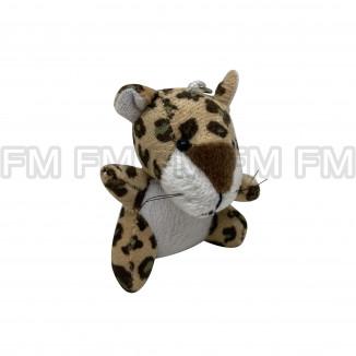 Chaveiro Pelúcia Bichinho Leopardo F9900254